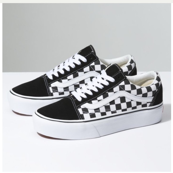 83e2134d1a6e Vans checkerboard old skool platform shoes. M 5bbe8e0945c8b3d38cea6ba8